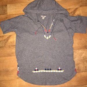 Lucky Brand hooded shirt